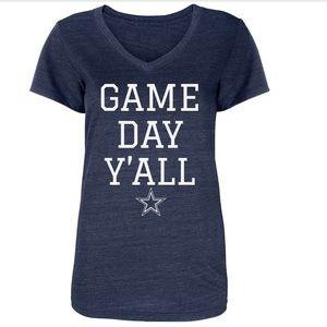 Dallas Cowboys Game Day Y'all Tee